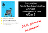 Cartoon: eCar Innovation (small) by Marbez tagged ecar,deutsche,autoindustrie,innovation