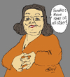 Cartoon: Sichere Rente (small) by Marbez tagged banahles,rente,sicherheit
