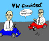 Cartoon: VW Crashtest (small) by Marbez tagged vw,crashtest,piech,winterkorn