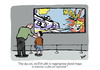 Cartoon: Lichtenstein (small) by Dom Richards tagged lichtenstein,art,cartoon
