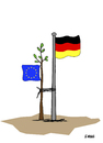 Cartoon: Germanys leading role in Europe (small) by emraharikan tagged germany,eu