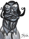 Cartoon: Salvador dali (small) by gunberk tagged salvador dali