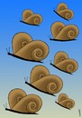 Cartoon: flying snails (small) by Medi Belortaja tagged fly,flying,butterfly,butterflies,snail,snails,genetical,modification