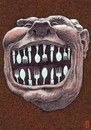 Cartoon: laughter metal (small) by Medi Belortaja tagged laudh laughter metal spoon forks smile smiling face teeth tooth food