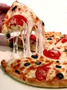 Cartoon: pizza (small) by Medi Belortaja tagged pizza,food,hands,eating,hand,reaching,appetite
