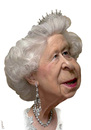 Cartoon: Queen Elisabeth II (small) by Medi Belortaja tagged queen elisabeth ii england 60th anniversary united kingdom