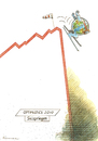 Cartoon: Apneu-Ski (small) by Riemann tagged world,economy,politics,financial,crisis,welt,wirtschaft,politik,finanzkrise,money,geld,future,zukunft,umwelt,environment