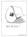 Cartoon: Shitler (small) by Riemann tagged toilettenpapier,deutschland,2020,gesellschaft,panik,hamster,hitler,demagogen,toilet,paper,cartoon,george,riemann