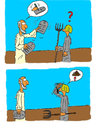 Cartoon: 10gebote (small) by SHolter tagged bibel