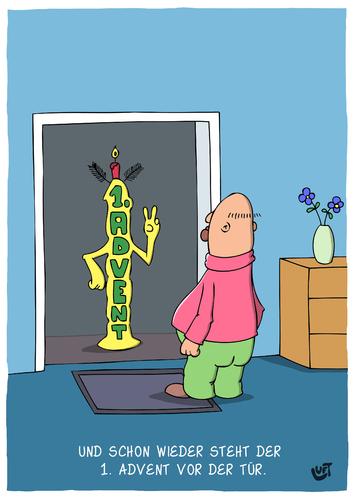 1 advent von luftzone religion cartoon toonpool. Black Bedroom Furniture Sets. Home Design Ideas
