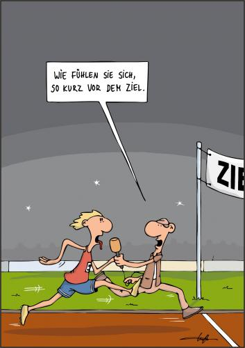Cartoon: Reporter (medium) by luftzone tagged sport,reporter,läufer,laufen,,sportler,rennen,ziel,laufen,läufer,reporter,journalist,interview,presse,medien