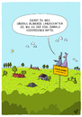 Cartoon: Blühende Landschaften (small) by luftzone tagged thomas,luft,cartoon,lustig,blühende,landschaften,umwelt,natur,vögel,tiere,deutsche,einheit,deutschland