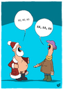 Cartoon: Ho ho ho (small) by luftzone tagged cartoon,humor,thomas,luft,lustig,weihnachtsmann,exhibitionist,weihnachten