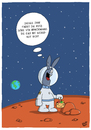 Cartoon: Rotzgöre (small) by luftzone tagged thomas,luft,cartoon,lustig,ostern,mars,erde,planet,hase,ei,verstecken,weltall