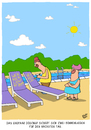Cartoon: Sonnenliegen (small) by luftzone tagged thomas,luft,cartoon,lustig,urlaub,ehepaar,pool,sonnenliegen,reservieren,reservierung,sonnenbaden