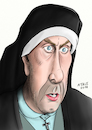 Cartoon: Eric Idle Karikatur (small) by A Tale tagged eric,idle,monthy,python,schauspieler,komödiant,musiker,komponist,england,humor,comedian,filme,sketche,karikatur,porträt,caricature,gesicht,bild,zeichnung,illustration,tale,agostino,natale