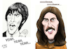 Cartoon: George Harrison (small) by A Tale tagged george,harrison,the,beatles,musiker,gitarrist,solokarriere,my,sweet,lord,here,comes,sun,pop,england,liverpool,sixtiees,indien,esoterik,porträt,karikatur,caricature,zeichnung,illustration,tale,agostino,natale