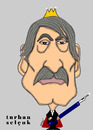 Cartoon: TURHAN SELCUK (small) by serkan surek tagged surekcartoons