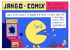 Cartoon: JANGO COMIX - POKMAN (small) by jangojim tagged pacman,arcade,game,retro,ball,jangojim