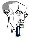 Cartoon: Franck Ribery (small) by Xavi Caricatura tagged bayern munchen franck ribery euro2008 football soccer france