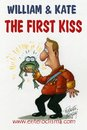 Cartoon: First kiss of William Kate (small) by Roberto Mangosi tagged royal,wedding,kate,william,marriage,charles,queen,buckingham,palace,windsor,mountbatten,middleton,westminster,abbey,camilla