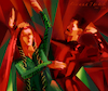 Cartoon: Sketch (small) by Tarkibi tagged lezgi,dance,life,persian,turkish,political,calture,azerbaijan