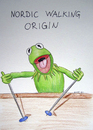 Cartoon: Nordic Walking (small) by gore-g tagged nordic,walikng,kermit,sport