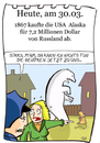 Cartoon: 30. März (small) by chronicartoons tagged alaska,usa,eisbär,russland,polizei,hund,chronicartoons