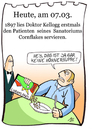 Cartoon: 7. März (small) by chronicartoons tagged cornflakes,kellog,cartoon