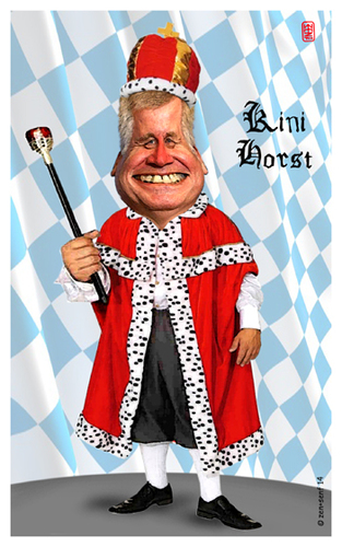 Cartoon: Kini Horst (medium) by zenundsenf tagged andi,augsburg,bayrischer,composing,csu,horst,karikatur,könig,ministerpräsident,märchen,seehofer,walter,zenf,zensenf,zenundsenf