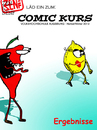 Cartoon: COMIC KURS 2012 Ergebnisse (small) by zenundsenf tagged comic,kurs,course