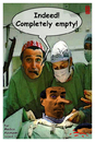 Cartoon: completely empty (small) by zenundsenf tagged neurologist zamponi emptyness zenf zensenf zenundsenf walter andi