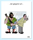 Cartoon: gangster fangen (small) by zenundsenf tagged ganster zenf zensenf zenundsenf