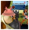 Cartoon: THE COWBOY and THE DEVIL (small) by zenundsenf tagged hezz cowboy devil zenf zensenf zenundsenf andi walter