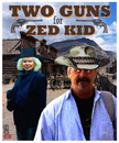 Cartoon: TWO GUNS for ZED KID (small) by zenundsenf tagged zed kid guns kanonen edda von sinnen western zenf zensenf zenundsenf walter andi