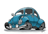 Cartoon: Bug (small) by Darrell tagged volkswagen,beetle