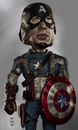 Cartoon: Avengers Caricature (small) by Rey Esla Teo tagged avengers,digital,painting,caricature