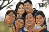 Cartoon: Yanson Family (small) by Rey Esla Teo tagged family,caricature,portrait,digital,painting