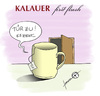 Cartoon: Kalauer first flush (small) by badham tagged tee,tasse,ziehen,teebeutel,scharzer,schwarztee,kalauer,äh