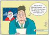 Cartoon: Merry Christmas... (small) by badham tagged hammel,badham,santa,claus,weihnachten,weihnachtsmann,christmas,xmas,rücktritt,nachrichten,news