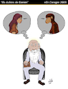 Cartoon: Els Dubtes de Darwin (small) by DrCoragre tagged humor darwin caricatura