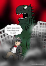 Cartoon: Horoskop (small) by Habomiro tagged habomiro,horoskop,godzilla