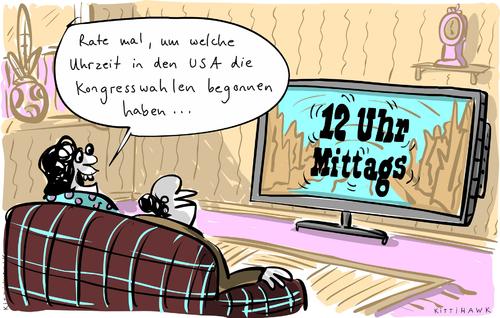 12 uhr mittags von kittihawk politik cartoon toonpool. Black Bedroom Furniture Sets. Home Design Ideas