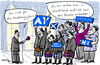 Cartoon: Hosen an (small) by kittihawk tagged schottland,unabhängigkeit