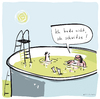 Cartoon: Schwitzen (small) by kittihawk tagged sommer,hitze