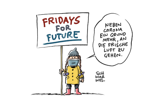 fridays for future Corona