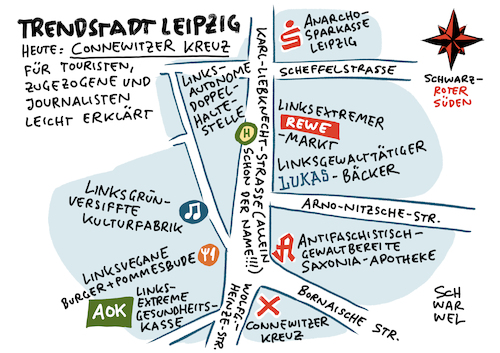 Leipzig Place To Go Connewitz