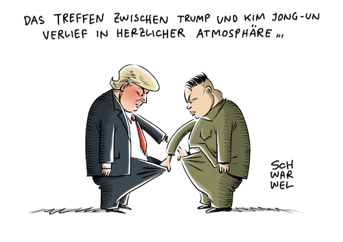 Cartoon: Nordkorea USA Trump Kim (medium) by Schwarwel tagged silvester,neujahr,neues,jahr,neujahrsansprache,kim,jong,un,atomknopf,atomwaffen,nordkorea,korea,atomkrieg,atomar,krieg,waffen,gewalt,diktator,diktatur,machthaber,politik,politiker,atomwaffe,nuklear,waffenarsenal,us,usa,amerika,america,trump,sicherheit,atomprogramm,atomtest,raketentest,rakete,raketen,pjöngjang,militär,ausland,krisen,konflikte,krise,konflikt,südkorea,karikatur,schwarwel,cartoon,atomdeal,reaktor,weltmächte,schwanzvergleich,männer,männersache,silvester,neujahr,neues,jahr,neujahrsansprache,kim,jong,un,atomknopf,atomwaffen,nordkorea,korea,atomkrieg,atomar,krieg,waffen,gewalt,diktator,diktatur,machthaber,politik,politiker,atomwaffe,nuklear,waffenarsenal,us,usa,amerika,america,trump,sicherheit,atomprogramm,atomtest,raketentest,rakete,raketen,pjöngjang,militär,ausland,krisen,konflikte,krise,konflikt,südkorea,karikatur,schwarwel,cartoon,atomdeal,reaktor,weltmächte,schwanzvergleich,männer,männersache