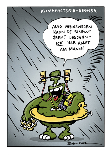 Schweinevogel Cartoon