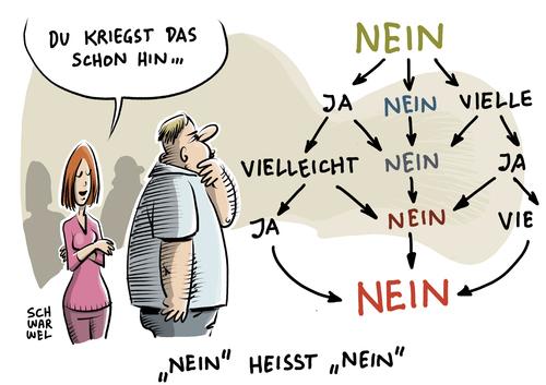 Sexualwandel Cartoon